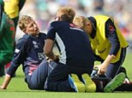 england sweat over chris woakes and joe root injuries