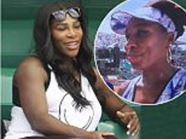 serena williams confirms she does not know her baby's sex