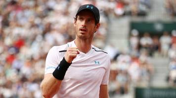 french open 2017: andy murray fights back to reach french open third round