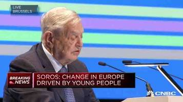 soros: the european union is now in an existential crisis and trump's america is a hostile power