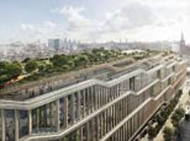 google unveils plans for its new £1bn london hq
