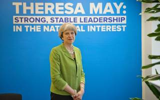 exclusive interview: theresa may talks to city am about brexit and the city
