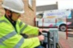thousands of derby homes can now get very fast broadband - and...