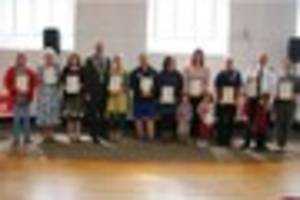 pride in ilfracombe awards: unsung community heroes celebrated