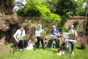 secret gardens event makes £10,000 for salisbury cathedral