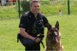 find out more about staffordshire police dog handler richard...