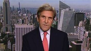 paris negotiator john kerry: 'grotesque abdication of leadership'