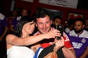 charity football match featuring joe calzaghe hailed a 'great success' in raising funds for manchester attack victims