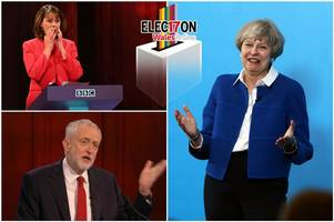 this is what people are saying after theresa may refused to take part in the tv debate