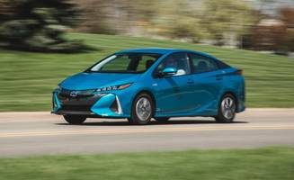 2017 toyota prius prime plug-in hybrid mega test: we sample every version to reach a single verdict