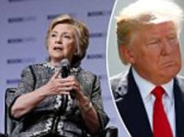 clinton says trump's administration is 'abnormal'