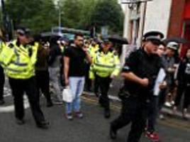 manchester area evacuated over car linked to bomb attack