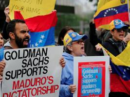 goldman's venezuela deal shows it missed a dramatic shift in its business