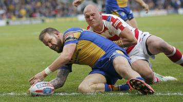 cuthbertson scores twice in leeds win over leigh