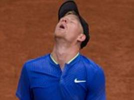 kyle edmund crashes out of french open third round