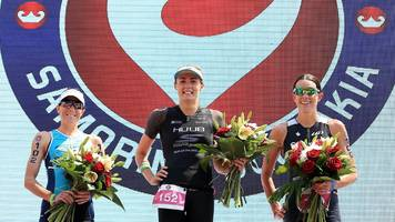 gb's charles wins inaugural triathlon championship but brownlee retires from race