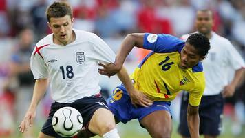 michael carrick: match of the day pundits laud england performance at 2006 world cup