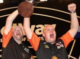 holland beat wales to clinch the betway world cup of darts