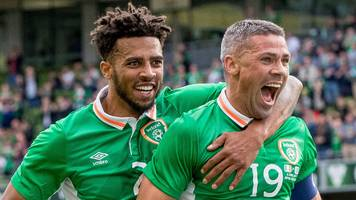 republic of ireland too good for uruguay