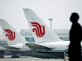 air china passenger plane 'nearly crashes into mountain'