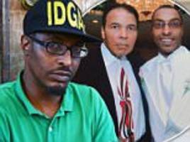 muhammad ali, jr says he's broke and almost homeless
