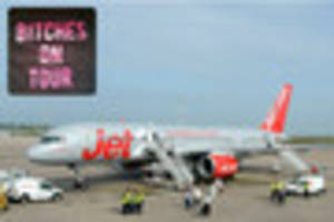 hen party kicked off flight for 'offensive' shirts offered free...