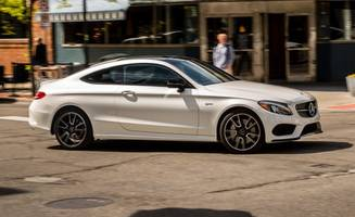 2017 mercedes-amg c43 coupe tested: rough rider