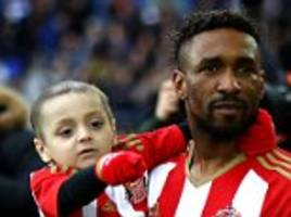 defoe to spend as much time as he can with bradley lowery