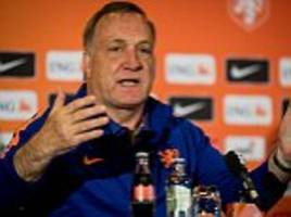 dick advocaat confident holland will make world cup