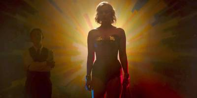 what that mysterious teaser before 'wonder woman' was about