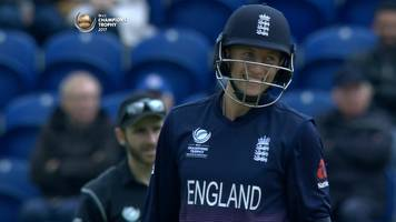 england v new zealand: joe root nearly run out by team mate ben stokes
