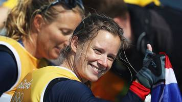 hannah mills: olympic sailing champion reveals america's cup dream