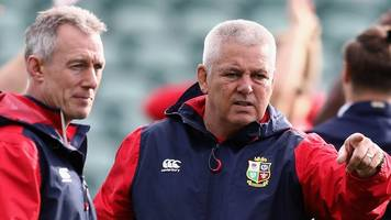 british and irish lions: 'i don't know what warrenball means' - howley