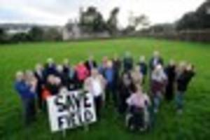 plymouth field set to become a 'village green' to stop developers...