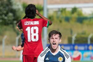 scotland 2 indonesia 1 as rangers starlet ryan hardie spares scots blushes and all but sets up toulon semi against england