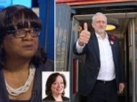corbyn tells diane abbott to 'stand aside' during election
