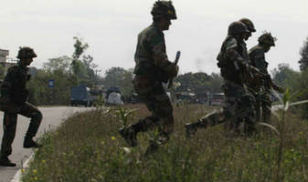 j&k: two unknown terrorists killed in ongoing operation in machhil sector