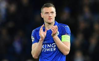 leicester's vardy withdraws from england squad