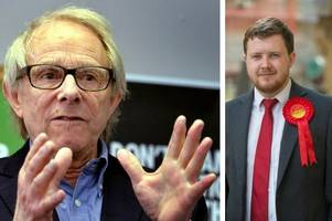 video: ken loach urges voters to back bath labour candidate joe rayment in general election