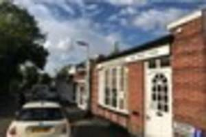 parade of shops outside sanderstead station to be bulldozed with...