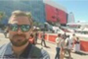a kent father has described a surreal moment when watching his...