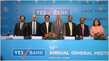 13th yes bank agm – june 6, 2017 shareholders fully support all resolutions proposed by the board of directors of yes bank