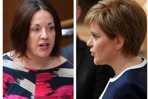 sturgeon stands by it - the first minister insists kezia dugdale said labour would drop opposition to indyref2