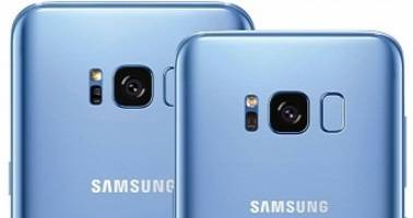samsung galaxy s8 and s8+ in coral blue to arrive in the us soon
