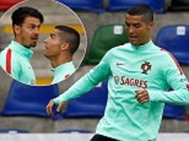 portugal prepare for world cup qualifier against latvia