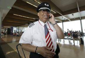 first black to be chief pilot at a major airline retires