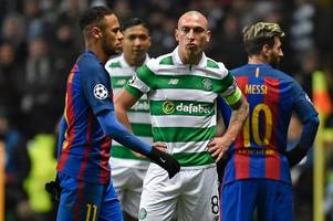 celtic skipper scott brown insists he's nothing to prove against england after starring in champions league
