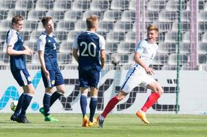 scotland 0 england 3 as young scots crash out of toulon tournament in semi final defeat to auld enemy