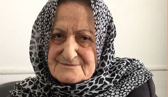 the 81-year-old bin-woman with a phd