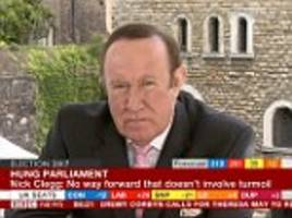 bbc's andrew neil suffers gaffe in nigel farage interview